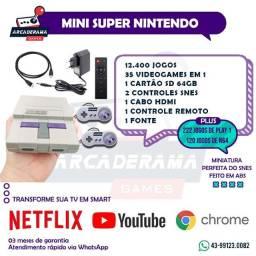 Mini Game Retro super nintendo / playstation 12600 jogos