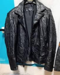 Jaqueta de couro da Mercatto Tam P