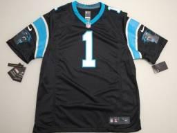 Título do anúncio: Camisa Jersey NFL Nike Original Carolina Panthers Cam Newton XL