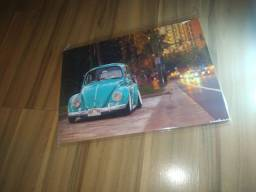 Placa Decorativa Volkswagen Fusca - Carro