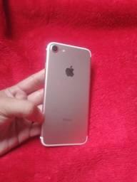 IPhone 7 128 GB cor rose observe de iranduba