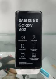 Título do anúncio: Samsung A02 32GB - AZUL OU PRETO - DIVIDO ATÉ EM 10X NOS CARTÕES