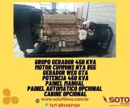 Gerador 450 kva 500 kva 635kva