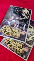 Título do anúncio: DVDs Os Cavaleiros do Zodíaco The Lost Canvas