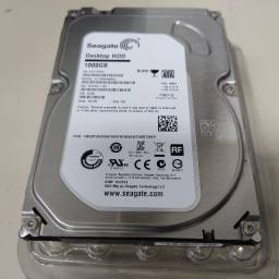 Título do anúncio: HD Seagate 1TB (100GB)