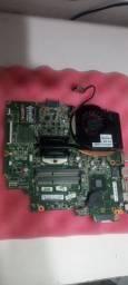 Placa mãe com processador I5 Terceira Geração HP G2 240