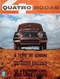 Quatro Rodas n°. 24 - Julho/1962 - Gordini, história dos ônibus