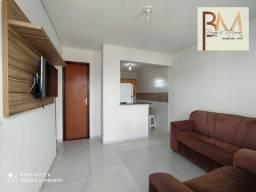 Apartamento com 2 dormitórios para alugar, 42 m² por R$ 1.200,00/mês - Santa Mônica - Feir