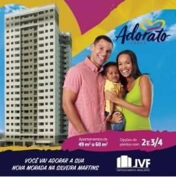 Apartamento no Cabula 2/4 e 3/4, Adorato , Vivace, Allegri - Ótimas condições de pagamento