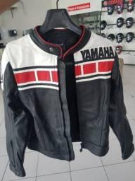 Jaqueta Yamaha Feminina Couro