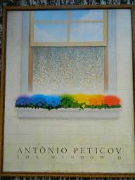 Poster 'The Window 2' - Antonio Peticov (usado)