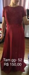 Vestido longo Tam 52