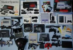 Compro videogames antigos: cartuchos, fitas e consoles. Ler a descrição do anuncio