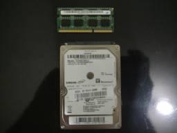 Hd de notebook+ memória barato