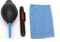 Limpador Lente Lcd Fotográfica E Limpeza Ótica Kit 5 Em 1 - NOVO