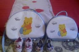 Vendo bolsas e sapatos