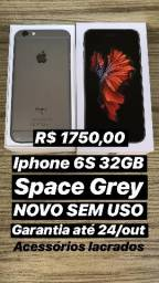 Iphone 6S 32GB Space Grey NOVO com garantia