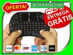 Controle Wireless Sem Fio Usb Teclado Mouse Touch Smart Tv-Motoboy por nossa conta