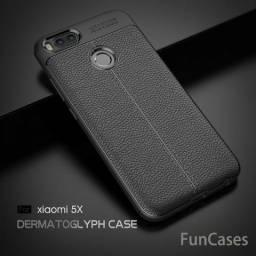 Capinha Case Xiaomi Mi A1 (5.5) Anti Impacto Estilo Couro