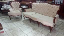 Sofa captone Luis XV