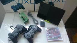 PlayStation 2 Desbloqueado 03 Meses De Garantia