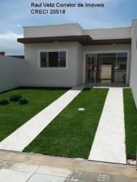 Casa nova com estrutura para 2 andar por R$ 169.000,00 Minha Casa Minha Vida