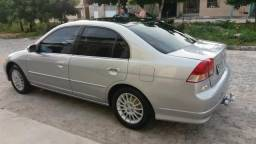 Honda civic 2005 automático, completão e novinho - 2005