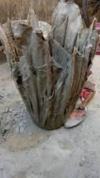 Trabalho com cimento