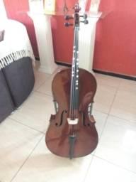 Vendo ou Troca Violoncelo Mavis 6011 4/4 muito bem conservado R$ 2.000,00
