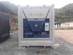 Container refrigerado (Câmara fria)para supermercados, açougues e similares