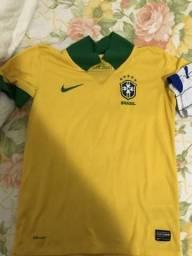 Camisa Seleção Brasileira. Original e Infantil 26ff0221193ac