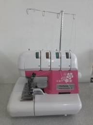 Máquina de costura overloque domestica