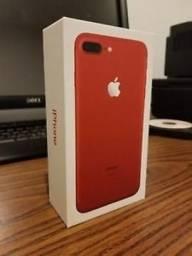 Vendo iphone 7 plus 128gb com nota red