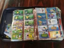 Coleção de cartões telefonicos