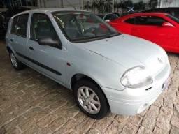 CLIO 2001/2002 1.0 RT 16V GASOLINA 4P MANUAL - 2002
