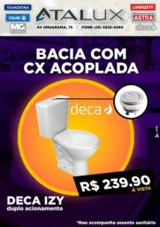 Conjunto Bacia com caixa acoplada DECA IZY comprar usado  Araçatuba