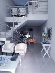Líder imob - Casa Duplex, com 3 Suítes, 2 Salas, para Venda no Sim
