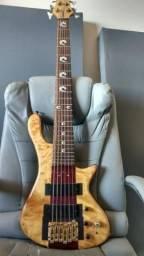 Baixo 6 cordas Luthier comprar usado  Montes Claros