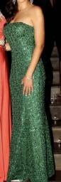 Vestido festa P/M verde