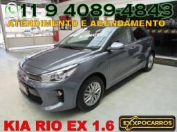 Kia Rio Ex 1.6 Flex Automatico - Ano 2020 - Aepnas 546 Km Rodados