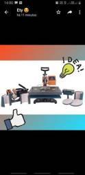 Máquina de sublimação prensar 8 em 1