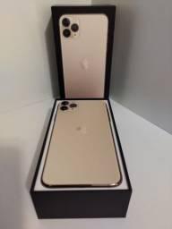 Hoje 11 Pro Max 64GB Dourado - Seminovo - loja Niterói