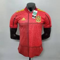 Camisa Espanha Home 2020 / 2021 - Jogador