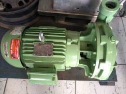 Motobomba centrífuga monoestágio Schneider bc22R  5cv 220/380v trifásica - Revisada
