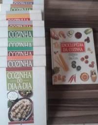 Coleção Livros Ilustrados de Receitas Culinárias
