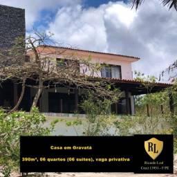 Vendo Casa em Gravatá, 390m², 06 suítes