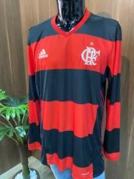 Flamengo Adidas Manga Longa