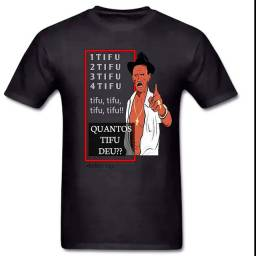 """> Camisa do Tri!nga """"Quantos TIFU""""!"""
