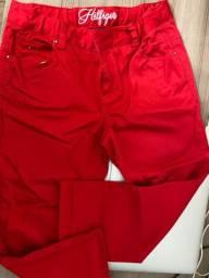 Vendo calça vermelha infantil Tommy Hilfiger