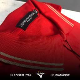 Camisas Polo Malha Piquet Premium